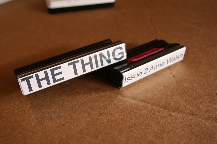 Issue 2 - Rubber wedge - The Thing Quarterly