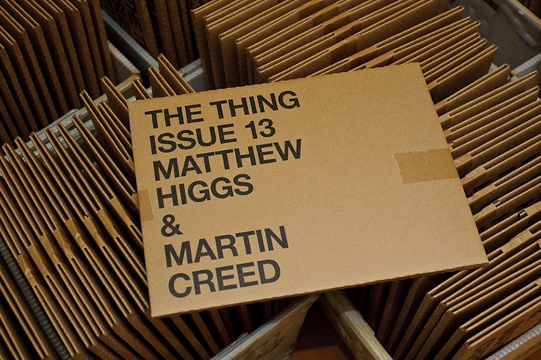 The Thing ISSUE 13 - MATTHEW HIGGS & MARTIN CREED