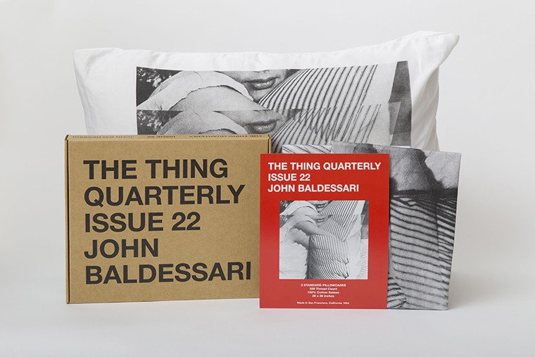 Artistic Standard Pillowcases by JOHN BALDESSARI