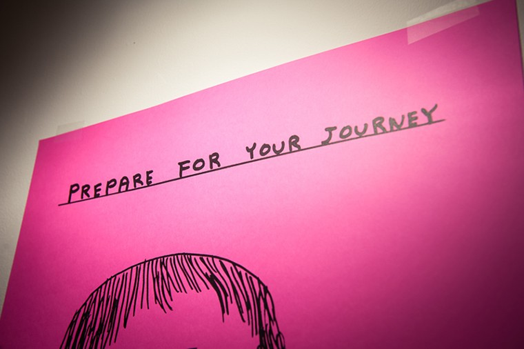 DAVID SHRIGLEY SILKSCREENED POSTER - Released spring 2013