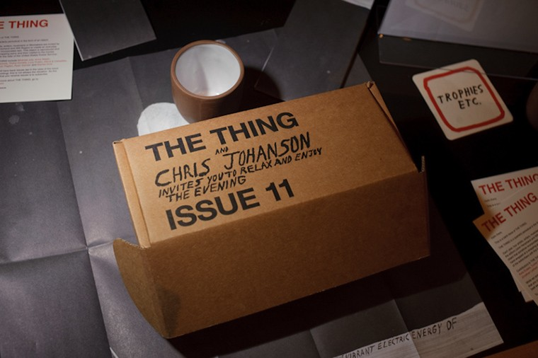The Thing Quarterly ISSUE 11 - CHRIS JOHANSON