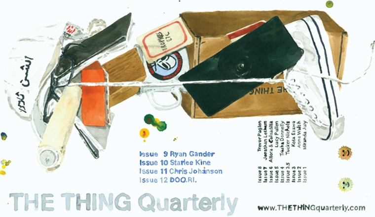 DAVE MULLER ADVERTISEMENT for The Thing Quarterly