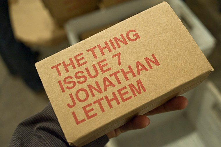The Thing ISSUE 7 - JONATHAN LETHEM