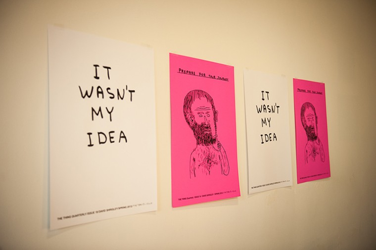 DAVID SHRIGLEY SILKSCREENED POSTER #1