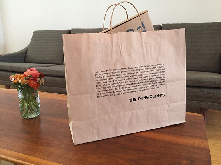 The Thing Quarterly - STARLEE KINE SHOPPING BAG