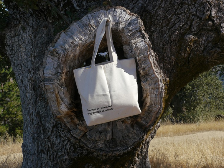 THOMAS A. CLARK: HOLDERLIN'S SHOPPING BAG