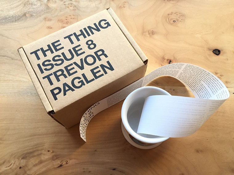 The Thing Issue 8 Trevor Paglen White Coffee Mug